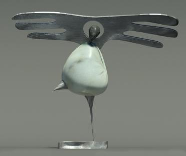 Rzeźba - Anioł Dekoracyjny