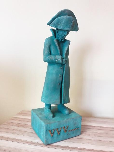 Napoleon - statuetka na 50 urodziny