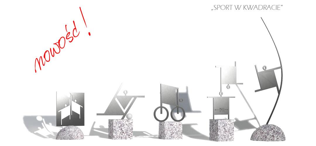 NOWOŚĆ - Sport w kwadracie - MIW Design