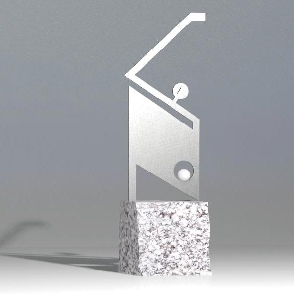 Nagroda Golfowa - Golfista w kwadracie 2 - Nagrody - MIW Design