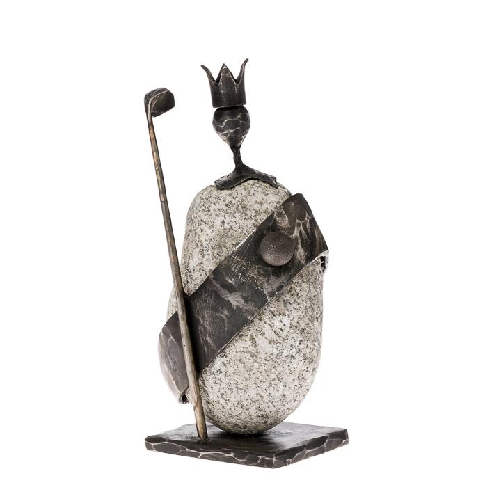 Prezent dla golfisty - Figurka Król Golfa - Nagrody - MIW Design