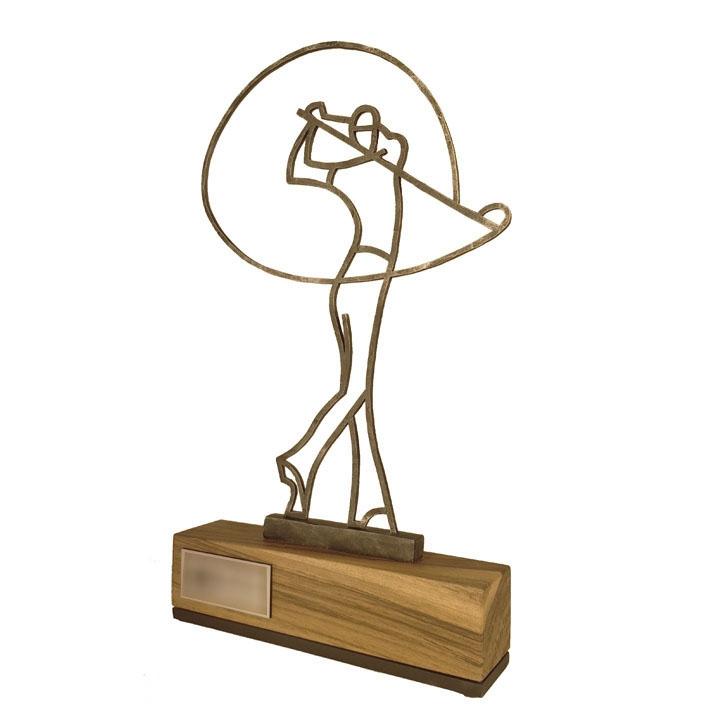 Golf Trophy - Golfer 1 - Nagrody - MIW Design