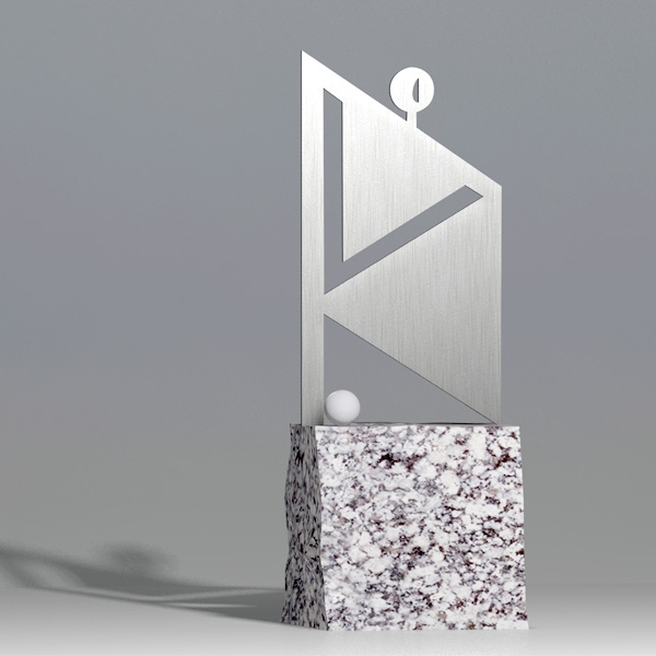 Nagroda Golfowa - Golfista w kwadracie 1 - Nagrody - MIW Design