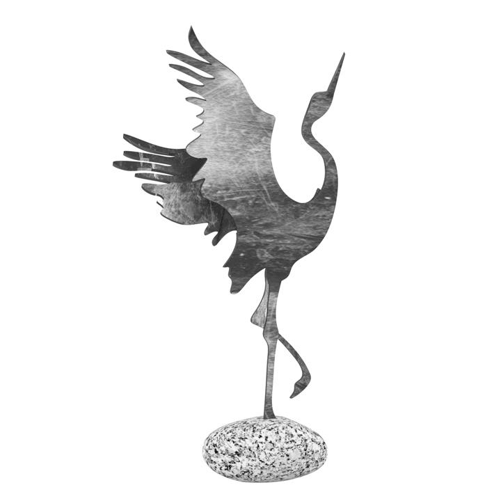 Statuetka - rzeźba - Żuraw 1 - Dekoracje - MIW Design