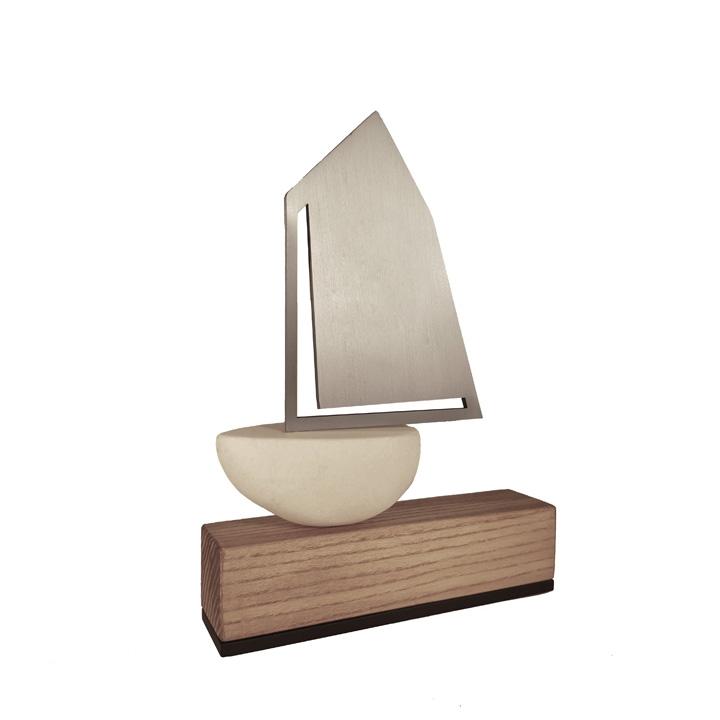 Trofeum żeglarskie - Żaglówka 8 - Nagrody - MIW Design