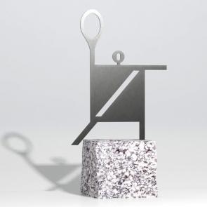 Badminton trophy - Badminton in square - Nagrody - MIW Design