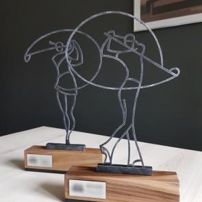 Woman Golfer 1 - Golf Trophy - Nagrody - MIW Design