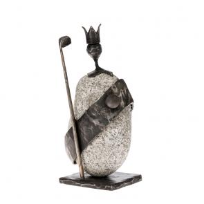 Prezent dla golfisty - Figurka Król Golfa - Dekoracje - MIW Design